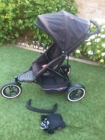 Phil and teds single pushchair (can be converted to a double)