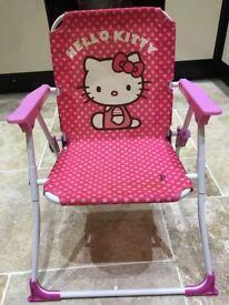 Hello kitty children's chair