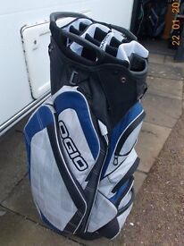 GOLF CART BAG - LIKE NEW