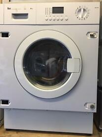 Intergraded TEKA white good looking 7kg 1400spin washing machine cheap