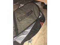 Surfboard travel bag hold 3 boards kommunity