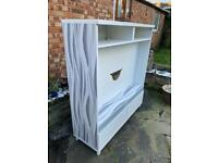 Up cycled tv unit