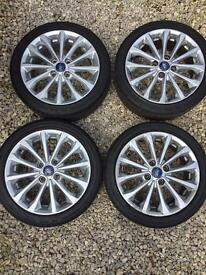 4x Genuine Ford Alloys With Tyres