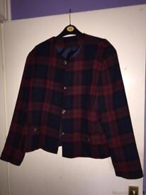 Sixth Sense vintage tartan jacket