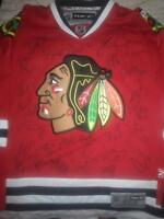 2010 STANLEY CUP CHAMPIONS SIGNED CHICAGO BLACKHAWKS RBK JERSEY