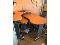 Computer work table desk