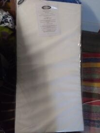 Obaby cot mattress 120x60, still in packaging