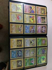 Pokemon cards Inc holo and rares