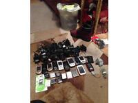 Job lot of mobile phones