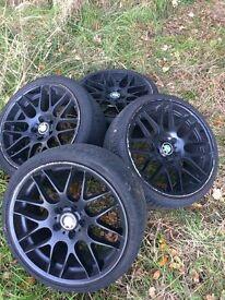 BMW CSL Rep Wheels.