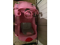 Girls Pink Electric car