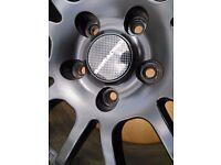 "949 Racing 6ULR wheels in 17"" with Yokohama AD08 AD08R Honda s2000 - not Enkei Volk Rays"