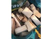Dump bags of logs for sale north east