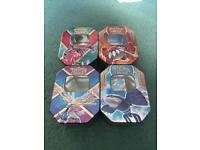 164 Pokémon Trading Cards & Collectors Tins (Bundle)