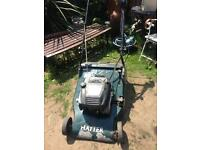 Hayter Harrier 56 Petrol Self Driven, Key Start Rear Roller Lawnmower