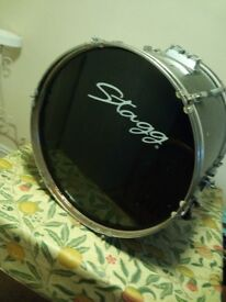 Bass Drum for drumkit - black