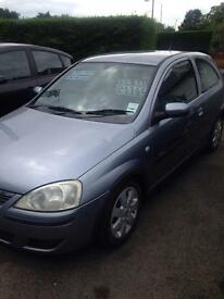 vauxhall corsa for sale 05 reg(kilmarnock)10 month mot alloys sxi model twin port service