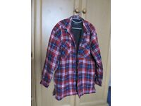Quilted Winter Jacket / Shirt – Lumberjack Style