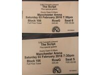 The script tickets Manchester