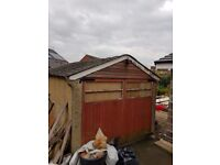 FREE Garage- to remove and dismantle ASAP
