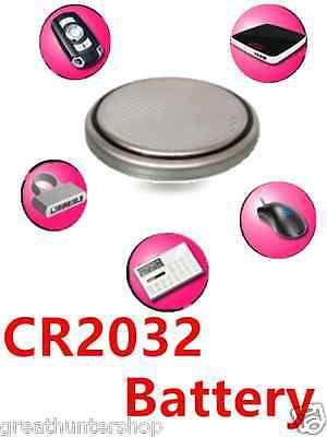 100 pcs CR2032 2032 Heavy Power 3V Bulk Button Lithium Batte