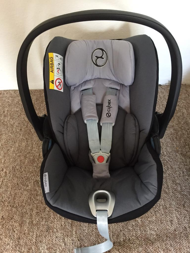 cybex cloud q baby car seat isofix base in st agnes cornwall gumtree. Black Bedroom Furniture Sets. Home Design Ideas