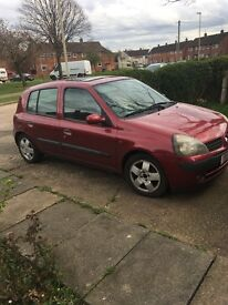 Renault Clio 2001 FOR SALE £350 ONO