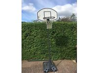 Basketball Net and Stand