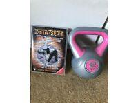2kg kettlebell and dvd