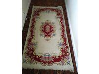 Vintage shabby chic rug