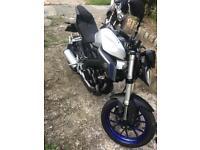 Yamaha MT125cc 2016 66 plate