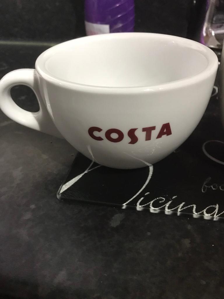 Set Of 3 Costa Coffee Mugs