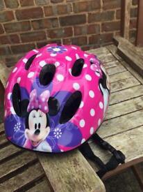 Small child's bike helmet