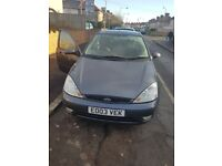 FORD FOCUS GHIA 1.6 PETROL MANUAL