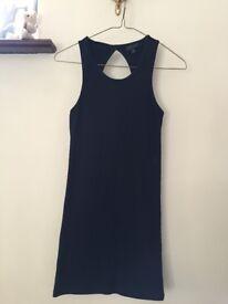 Women's Topshop Black Bodycon Dress UK 8