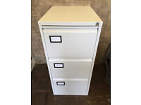 3 drawer lockable metal filing cabinet Free delivery