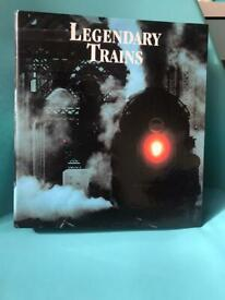 Legendary Trains Photobook with information cards