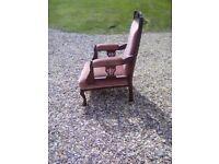 Edwardian style chair