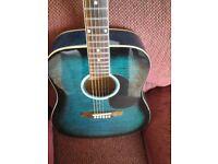 Jim Deacon guitar for sale.