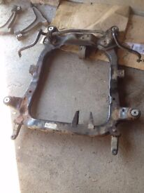 Vauxhall Vectra C - Front subframe + suspension arms