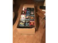 Job lot of dvds 400+