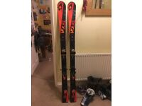 Volkl RTM 81 Skis +iPT WR Bindings 2016 - 163cm, Unused, Injury Forces Sale, £600 New, Now £375ono