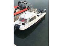 Boat 17ft wilson flyer