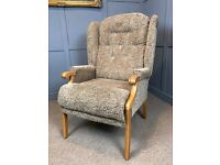 High Wing Back Chair Fireside Armchair Easy Chair