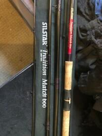 Silstar tradition match 600 rod in good condition