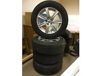 17 inch Alloy wheels and tyres fits mitsubishi outlander