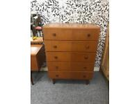 Vintage Meredew Chest Of Drawers
