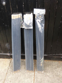 3 SETS OF DRAIN RODS