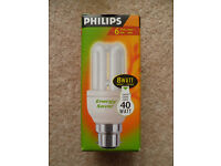 BN Energy Saver Philips 8w BC 827 (=40w) - 10000 hour life