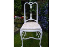 Vintage bedroom / dining chair